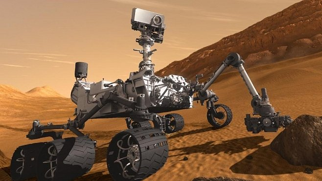 Najde vozítko Curiosity na Marsu život?