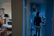Sibel Beliczynská , Kypřanka se dvěma dětmi, je nezaměstnaná, žije ze sociálních dávek a hledá práci.