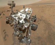 Vlastní portrét Curiosity pořídila 31. října.