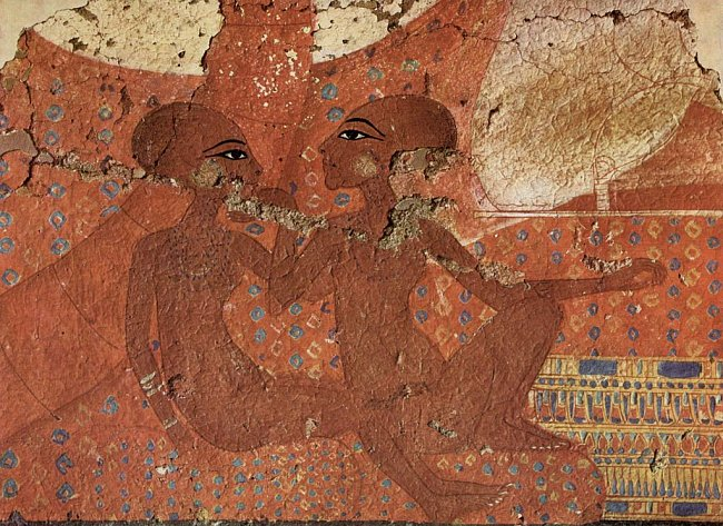 Dvě z dcer Achnatona a Nefertiti
