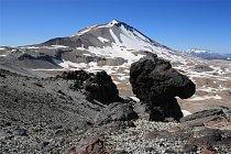 Výstup na sopku středního Chile. FOTO: Miloslav a Zuzana Druckmüllerovi