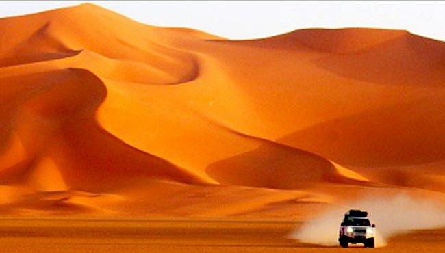 Napříč libyjskou Saharou přes oázy Rebián a Kufra