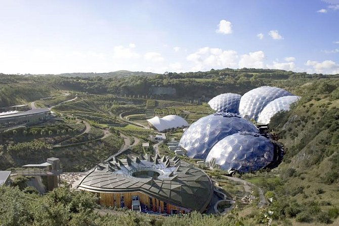 Projekt Eden vbritském Cornwallu