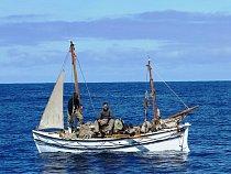 Loď na které tým urazil necelých 1500 kilometrů.