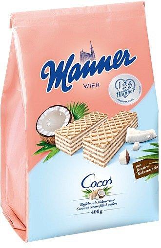Kokosové řezy Manner