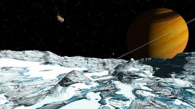 Na Saturnově měsíci je kyslík. Je možné na něm hledat život