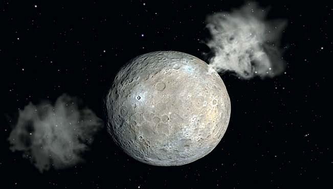 Planetka Ceres má větší zásoby sladké vody než Země