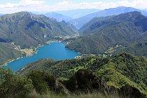 Údolí Valle di Ledro patří mezi nejzelenější v Itálii.