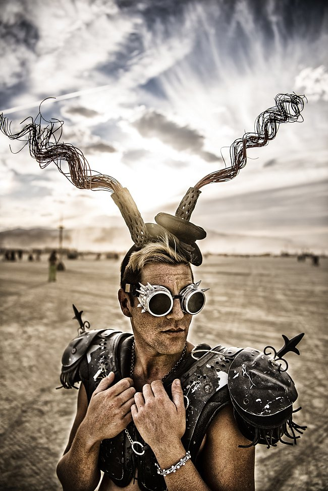 Marek Musil: Dust and Light - The Burning Man Collection