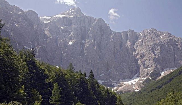 Divoká krása korita Mostnice v Julských Alpách