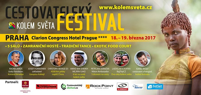 Program festivalu je bohatý.