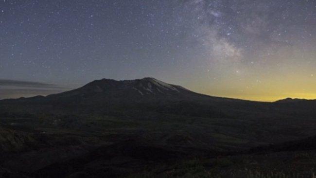 VIDEO: Nebe nad Oregonem. Časosběr, který vyrazí dech