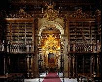 Barokní Biblioteca Joanina, Coimbra, Portugalsko, je domovem pro 70 000 svazků – a kolonii netopýrů. Hmyzožraví tvorové přispívají k ochraně knihovních fondů před škodlivým hmyzem přinejmenším od 19. století a knihovníci se postarali o jejich pohodlí.