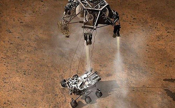 VIDEO: Sedm minut hrůzy. Tak bude vypadat přistání na Marsu