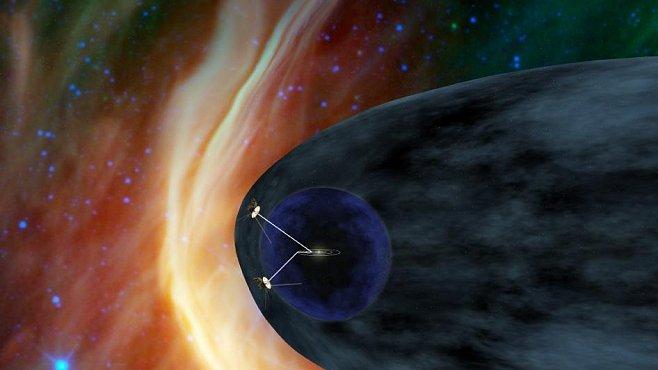 Kam se dosud nikdo nevydal: Voyager zdraví z hranice Sluneční soustavy