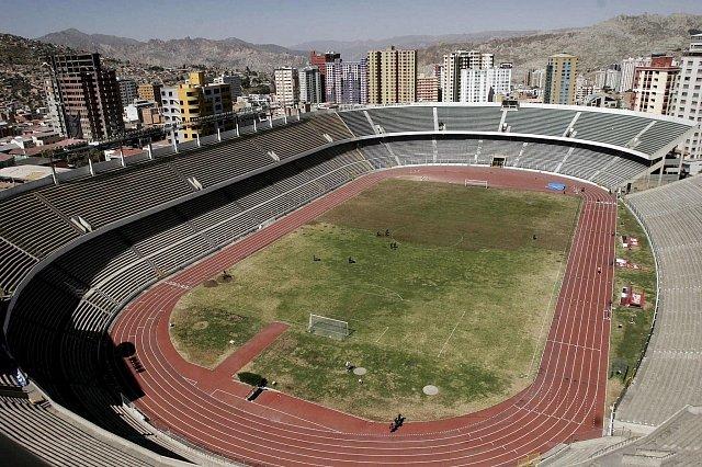 Fotbalový stadion v La Paz