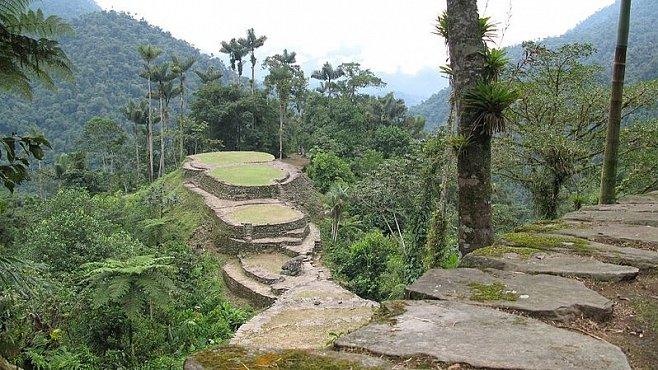 Ztracené město v Kolumbii vydává nová svědectví. Prastarý komplex postavila neznámá kultura