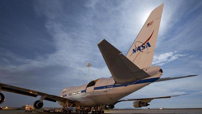 Dalekohled na palubě Boeingu umožňuje pozorovat dosud neznámé jevy. Třeba vzdálené zrození hvězd