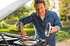 Televizní kuchař Jamie Oliver vyřešil zahnání únavy po svém...