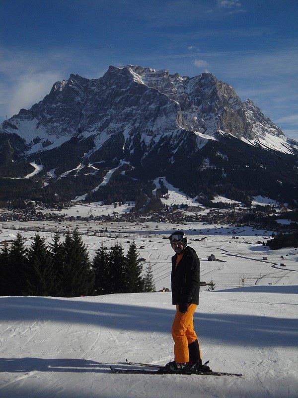 Tomáš Tureček pod nejvyšší německou horou