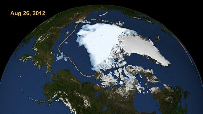Led v Severním ledovém oceánu letos tál nejrychleji v dějinách