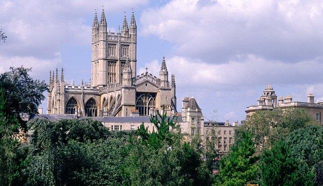Město Bath v hrabství Somerset patří k deseti nejnavštěvovanějším místům v Anglii.