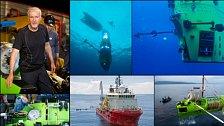 Režisér Cameron se potopil na nejhlubší místo planety. Pro National Geographic