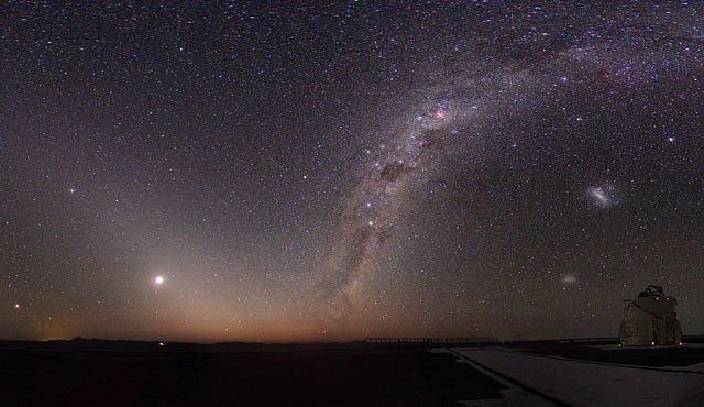 Hledání v závějích kosmického prachu