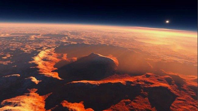 Záhadný kráter Gale je ideální místo k přistání na Marsu