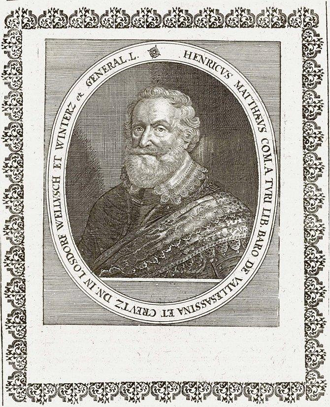 Hrabě Jindřich Matyáš Thurn