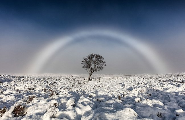 Bílá duha oprávněně patří k nejkrásnějším přírodním jevům.
