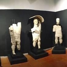 Sochy jsou k vidění v Národním archeologickém muzeu v Cagliari