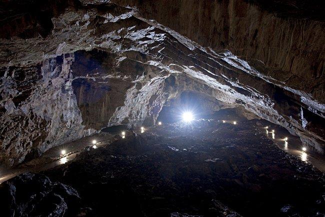 V Kateřinské jeskyni najdete největší zpřístupněný dóm.