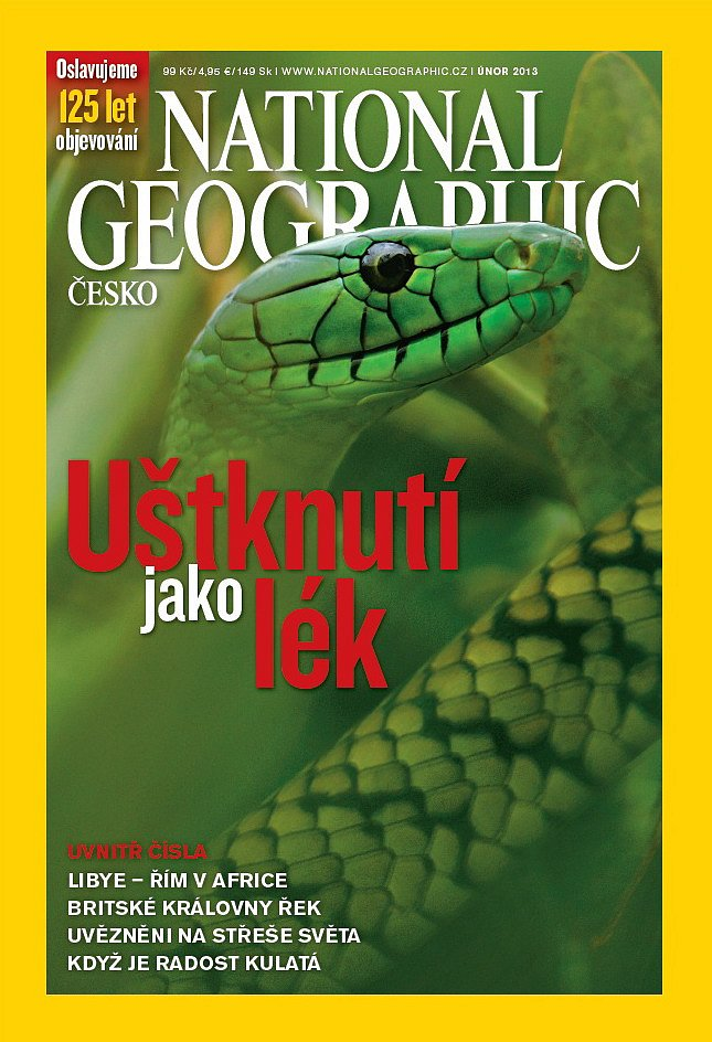 Obsah časopisu - únor 2013