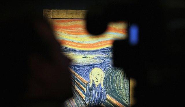 Výkřik Edvarda Muncha ukazuje výbuch sopky Krakatoa, tvrdí fyzici