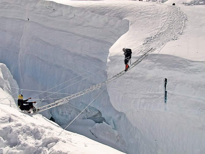 Osmitisícovky Radka Jaroše: Lhotse (8 516 m)