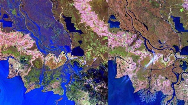 NASA: Člověk neodvratně mění planetu. Fotografie, které to dokazují