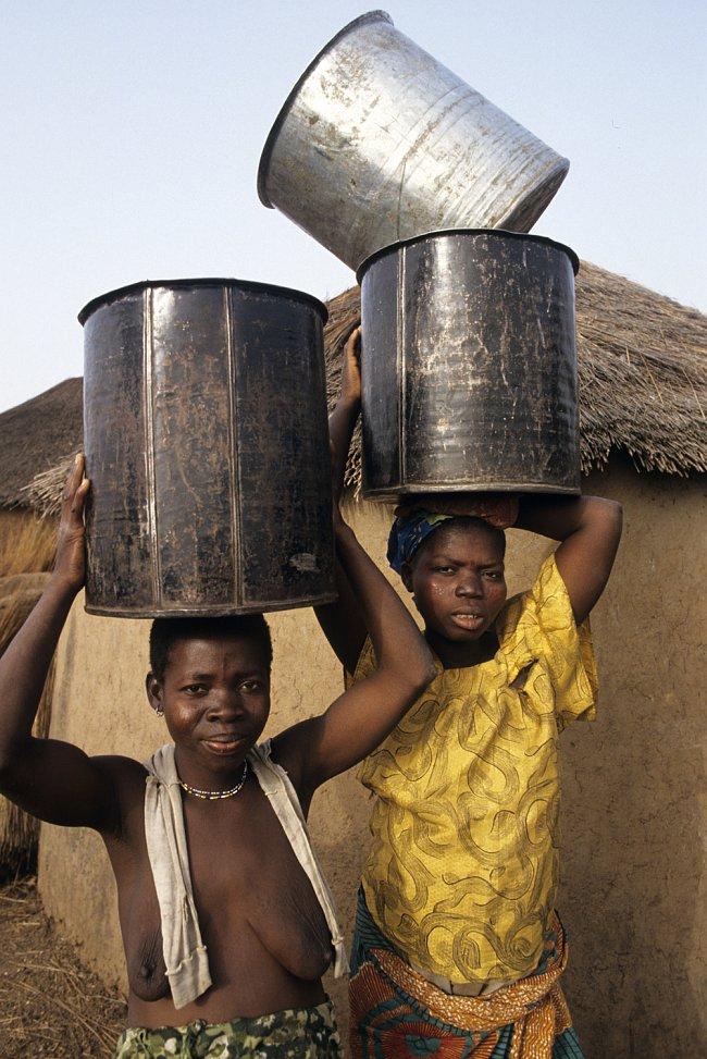 V Ghaně je voda velmi vzácná.