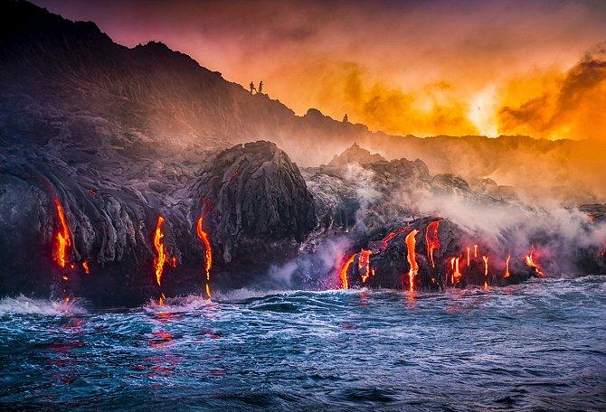 Andrew Richard Hara: Národní park Havajské vulkány