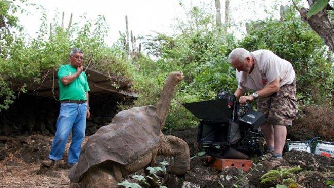 Jedinečné herecké obsazení filmu Galapágy 3D: Zázraky přírody