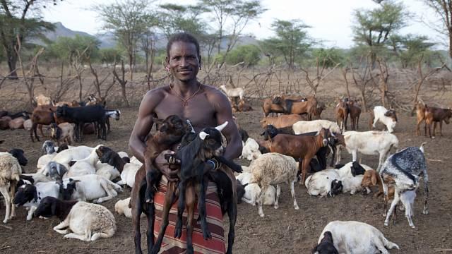 Obřad popravy ovce je velká událost