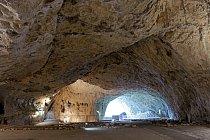 Vnitřní prostory jeskyně