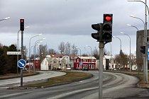 Semafory v Akureyri, severní Island
