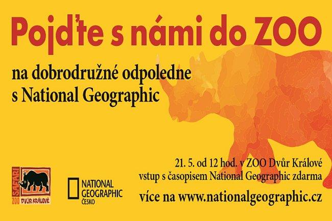 Redakce National Geographic připravila v neděli 21. května v zoo ve Dvoře Králové zajímavý program.