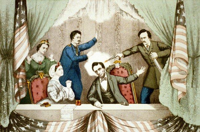 15.4.1865 Vražda významného amerického prezidenta Abrahama Lincolna