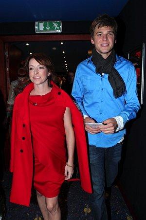 Tatiana Vilhelmova, partner Vojtech Dyk, tehotenstvi, brisko
