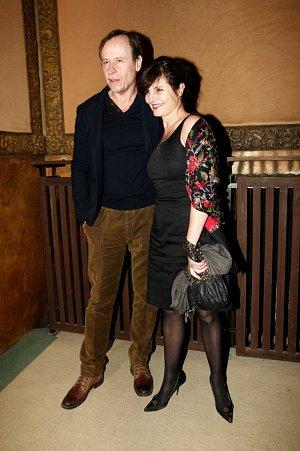 Karel Roden s partnerkou Janou Krausovou