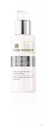 Zesvětlující sérum proti pigmentovým skvrnám Yves Rocher Zero Défault, cena 840 Kč.