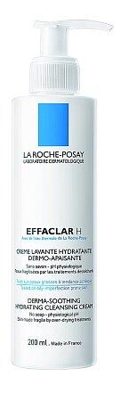 Zklidňující hydratační čisticí krém Effaclar H jemně ošetří vaši mastnou pleť, zklidní projevy vysušení vzniklé v důsledku léčby a obnovuje komfort pleti. La Roche-Posay, 200ml 359 Kč