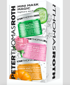 """Trojice masek (detoxikační a hydratační, exfoliační a uklidňující) v miniverzích v sadě """"Mini Magic Mask"""" set, Peter Thomas Roth, Sephora, 620 Kč"""